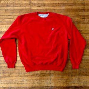 Champion Eco Authentic Crewneck Sweater, Large